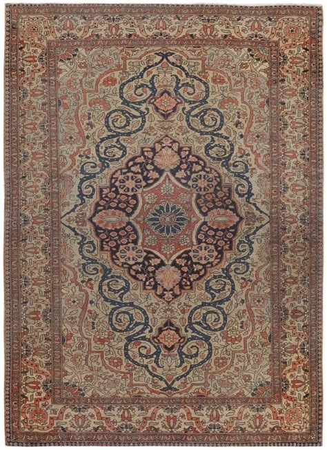 rug mtg antique kashan rug 46541 detail large view by nazmiyal nomad tribal antique rugs