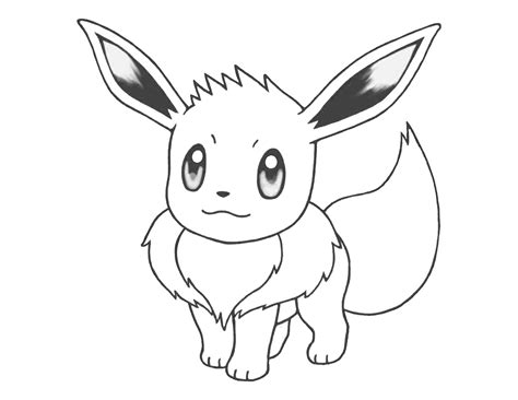 cute pokemon coloring pages eevee pokemon eevee coloring pages images pokemon images