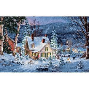 Cross Stitch Cottage by Dimensions Gold Collection Counted Cross Stitch Kit