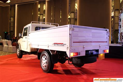 mahindra showroom pune automobilians mahindra big bolero pik up launched in