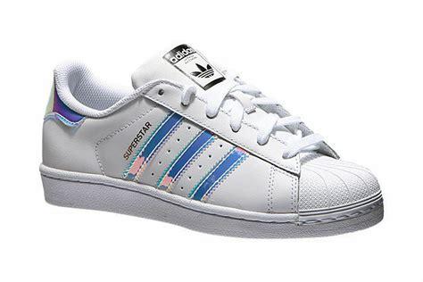 adidas superstar junior white hologram womens shoes aq6278 size 3 5 7 ebay