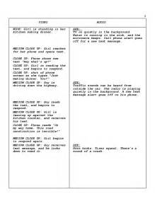 tv commercial script template scriptwriting psa commercial script