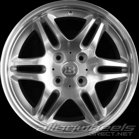 Smart Wheel Mono Wheel D 04 17 quot smart brabus mono vi wheels in silver polished surface alloy wheels direct 136984
