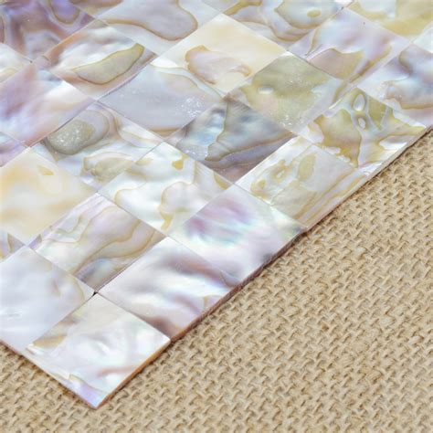 How To Install Backsplash Kitchen Mother Of Pearl Colorful Mini Square Mosaic Tile 12 Quot X 12 Quot