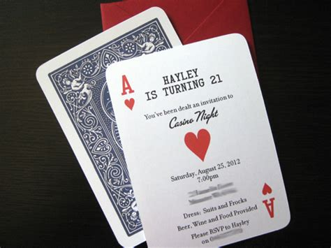 casino birthday card template casino invitation template free orderecigsjuice info