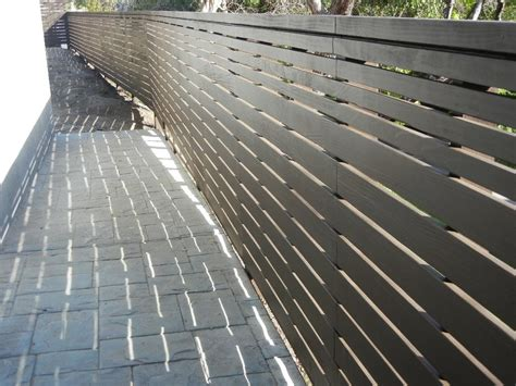 modern wood fence encino ca from harwell fencing gates inc los angeles in santa monica