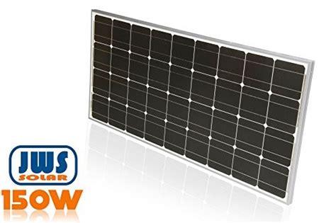 alles für garten 150watt solarpanel 12 volt monokristallin alles f 195 188 r garten