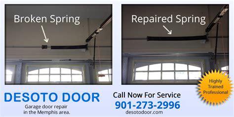 How To Lift Garage Door With Broken by Desoto Door Garage Door And Repair