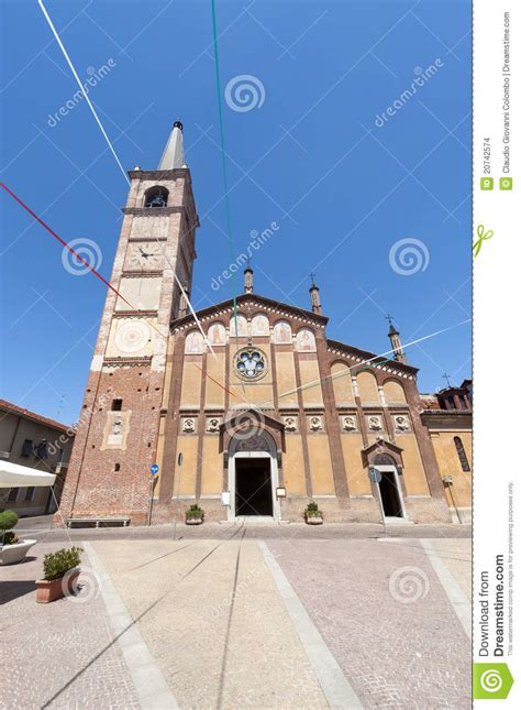 gambolo pavia gambolo ancient church stock images image 20742574