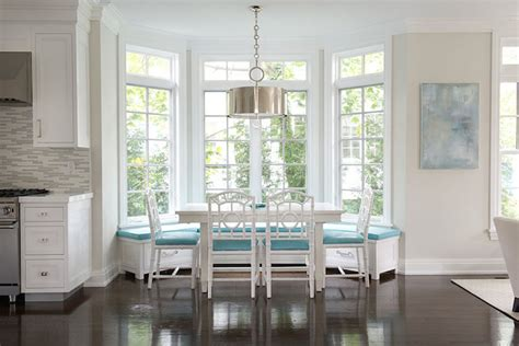 bay window seat height bay window banquette contemporary kitchen hgtv