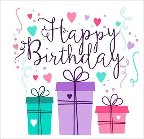 Happy Birthday Card Template by Birthday Card Template 15 Free Editable Files To