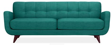 pretty modern teal couch i d have to put it right in