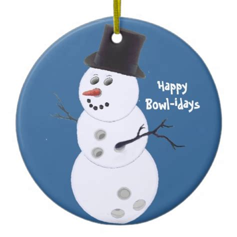 Bowling Ornaments - bowling bowlers gifts ornament zazzle