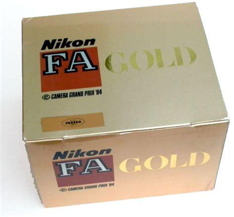 nikon fa gold '84 grand prix camera yk wong, singapore