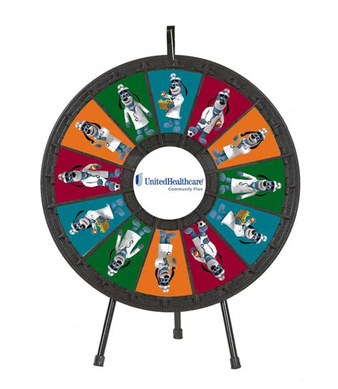 12 Slot Tabletop Classic Prize Wheel Gpplay 12 Slot Prize Wheel Template