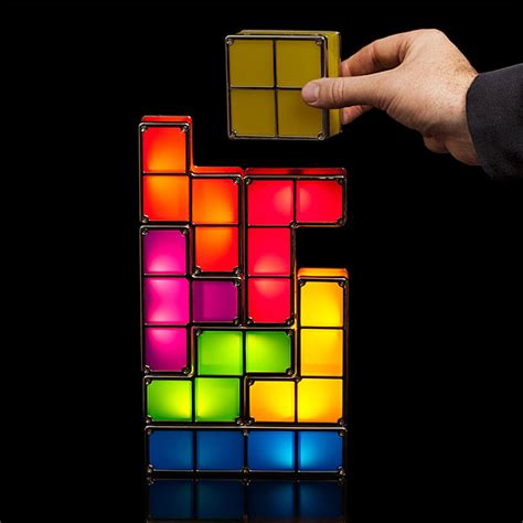 Lamp Squid tetris stackable led desk lamp