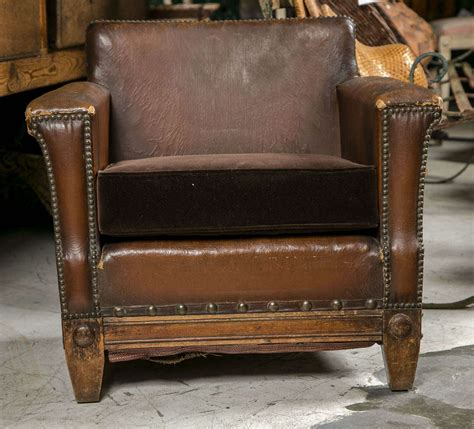 childs leather sofa unusual french leather childs chair at 1stdibs