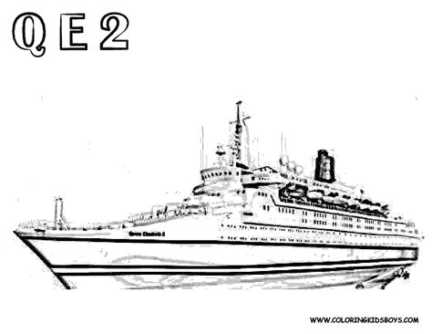 queen mary coloring page queen mary 2 ship coloring pages coloring pages