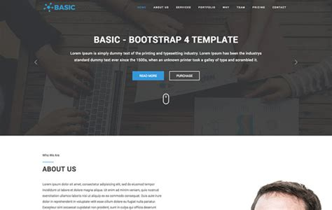 basic templates for bootstrap engage free multi purpose bootstrap 4 template graygrids