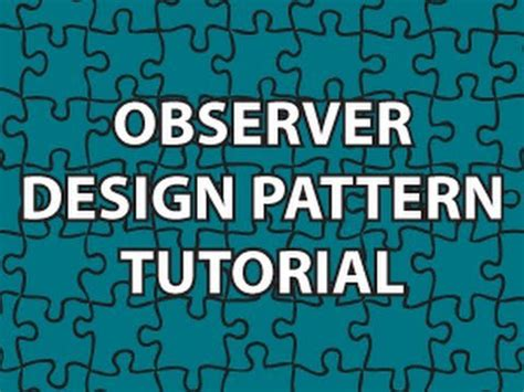 observer design pattern youtube uml 2 0 class diagrams funnycat tv
