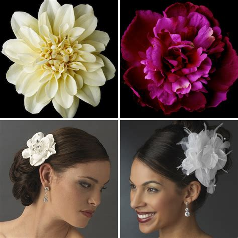 how to make wedding floral hair accessories hgtv gardens hot wedding accessory bridal flower hair clips and pins