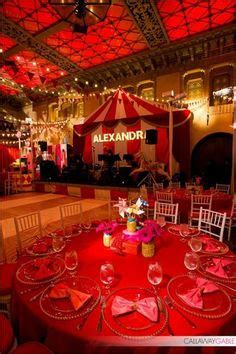 circus themed curtains ballroom decked out in vintage circus decor with dramatic