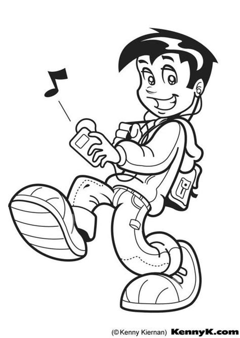 coloring book mp3 coloring page mp3 img 7045