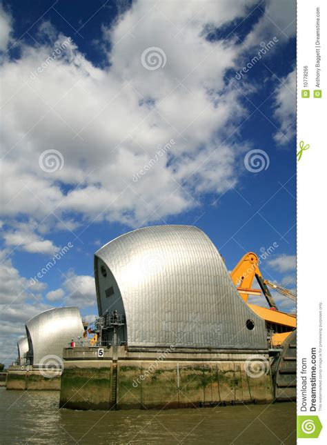 thames barrier animation thames barrier royalty free stock image image 10778266