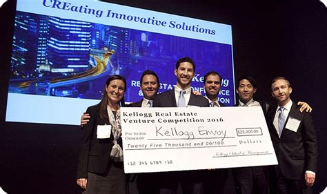 Kellogg Mba Real Estate by Previous Competitions Kellogg School Of Management
