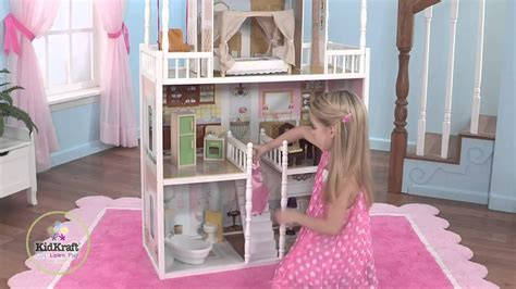 kidkraft savannah doll house kidkraft savannah dollhouse by dollhousedreamstore com youtube
