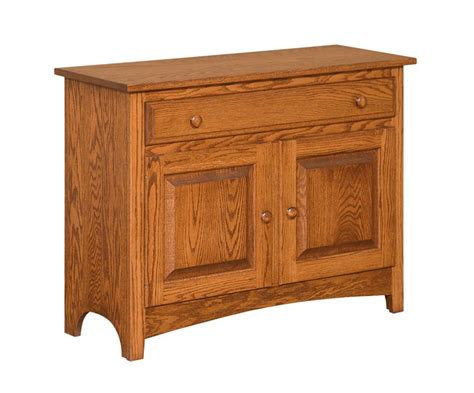 shaker console cabinet