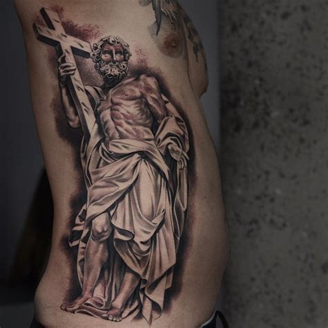 noah tattoo with crucifix by noah minuskin best