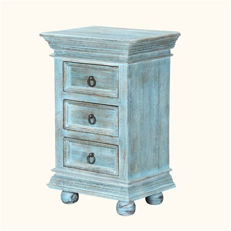 1000 ideas about blue nightstands on blue
