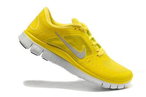 nike free run 3 womens running shoes yellow uk discount