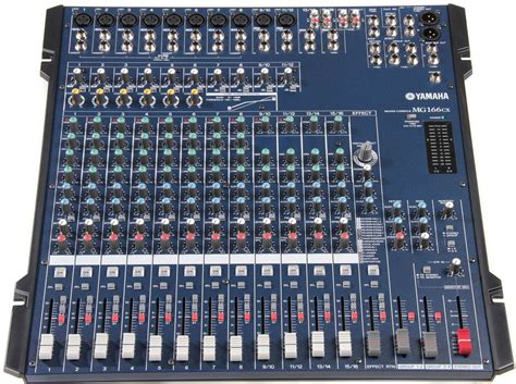 Yamaha Mg166cx 16 Channel Mixer Yamaha Mg166cx 16 Channel Live Mixer With Digital Effect Aoster Digital Electronics Factory
