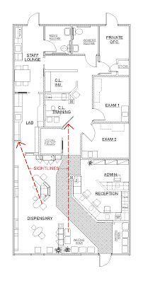 optometry office floor plans 25 best ideas about optometry office on pinterest