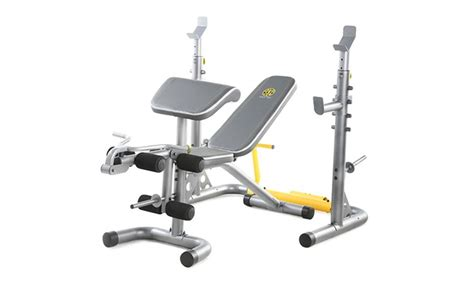 golds gym workout bench gold s gym xrs 20 olympic workout bench groupon