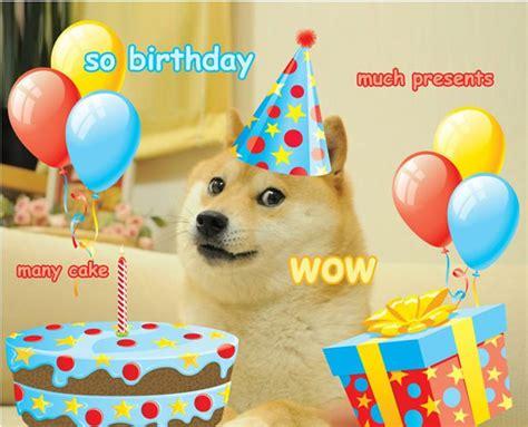 Birthday Card Meme - doge happy birthday yes memes
