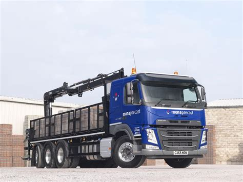 volvo trucks customer service volvo fm tridem 8x4 helps mona precast deliver market