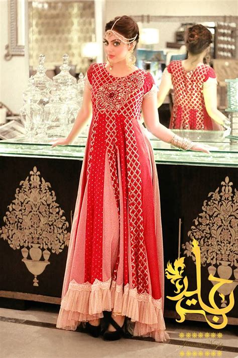 latest party wear maxi dresses frocks collection
