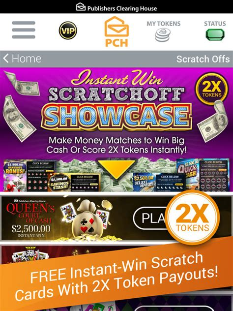 Cash Prize Sweepstakes - the pch app cash prizes sweepstakes mini games by publishers clearing house