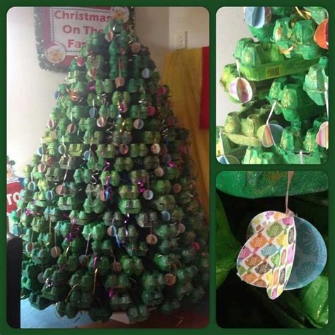 egg tree egg cartons tree and crafts
