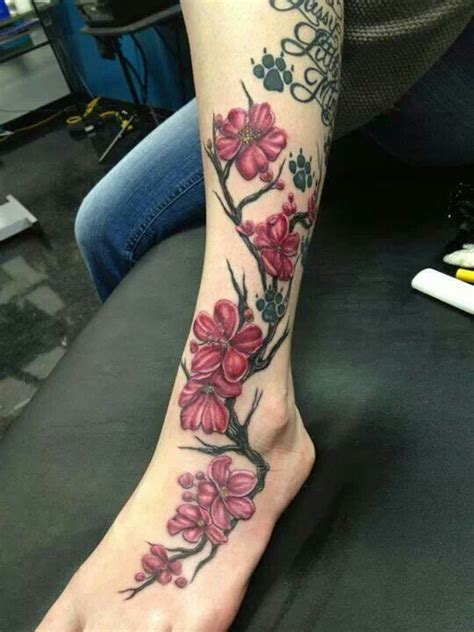 tattoo flower leg flower vine tattoo leg tattoos i like pinterest