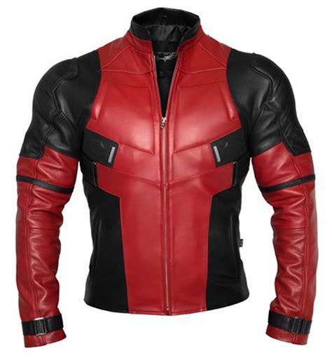 Jacket Keren Kulit Semi Pria deadpool inspired motorcycle jacket jaket kulit pria motorcycle jackets