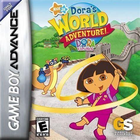 emuparadise adventure games dora the explorer dora s world adventure gameboy