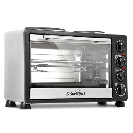 bench top ovens 34l benchtop convection oven with twin hot plate crazy sales