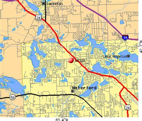 48329 zip code (lake angelus, michigan) profile homes