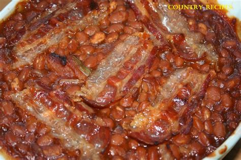 baked beans in a hurry country recipes style country recipes