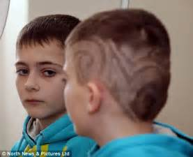 boy haircuts for 10 year olds 10 year old chool boy suspended fod his cool haircut