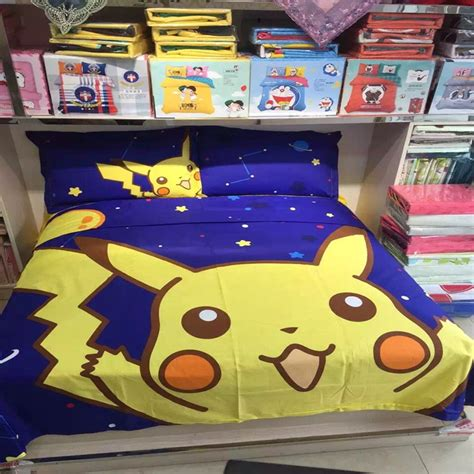 pokemon bedding queen popular pokemon bedding set buy cheap pokemon bedding set